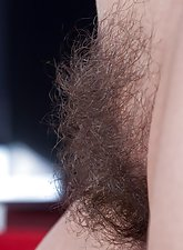 Vanessa J is the whole package. Blonde hair, long legs, gorgeously ripe melons, and one incredibly hairy body that she loves to show off. Why not take a peak in this hairy porn?