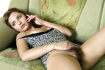 Phone sex really turns Tami on. She slides her hands down her hairy body, her flingers running between her tight hairy pussy lips before things really get heated in this hirsute porn.
